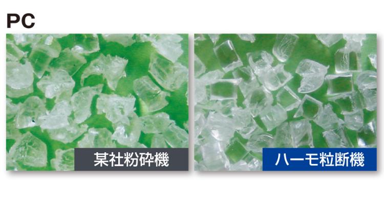 あきらめていたリサイクル成形を実現。樹脂材料のリサイクル率向上、コスト低減に貢献