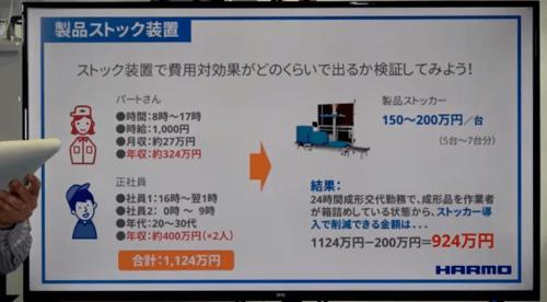ストック装置で費用対効果がどのくらいで出るか検証してみよう!(動画13:36頃から)の動画画像