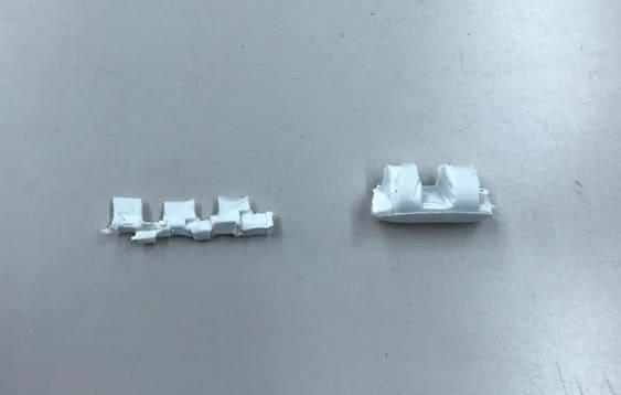 他社の低速樹脂粉砕機