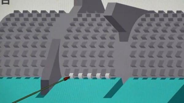 低速粉砕機-細いランナー (1)