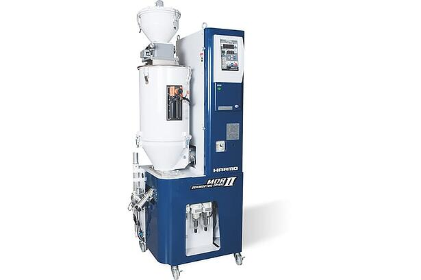 射出成形の外観不良を改善する除湿乾燥機MDRⅡ