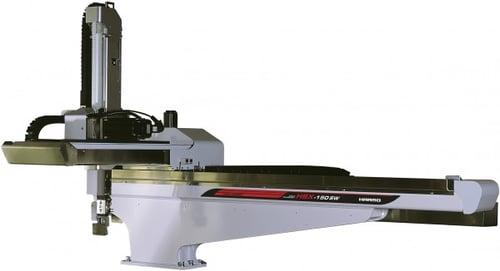 ハーモの射出成形自動取り出し機|HSX-150SW/250SW