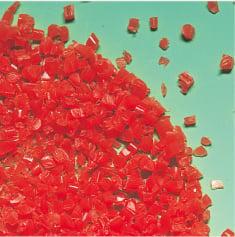 軟質材|PEポリエチレンの再生材粒断例の写真