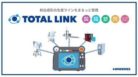 射出成形の取出しロボットが材料や周辺機器の不良や異常を監視し、自動で設備を制御するトータルリンクの画像