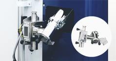 射出成形品の除湿乾燥ユニットの排出部