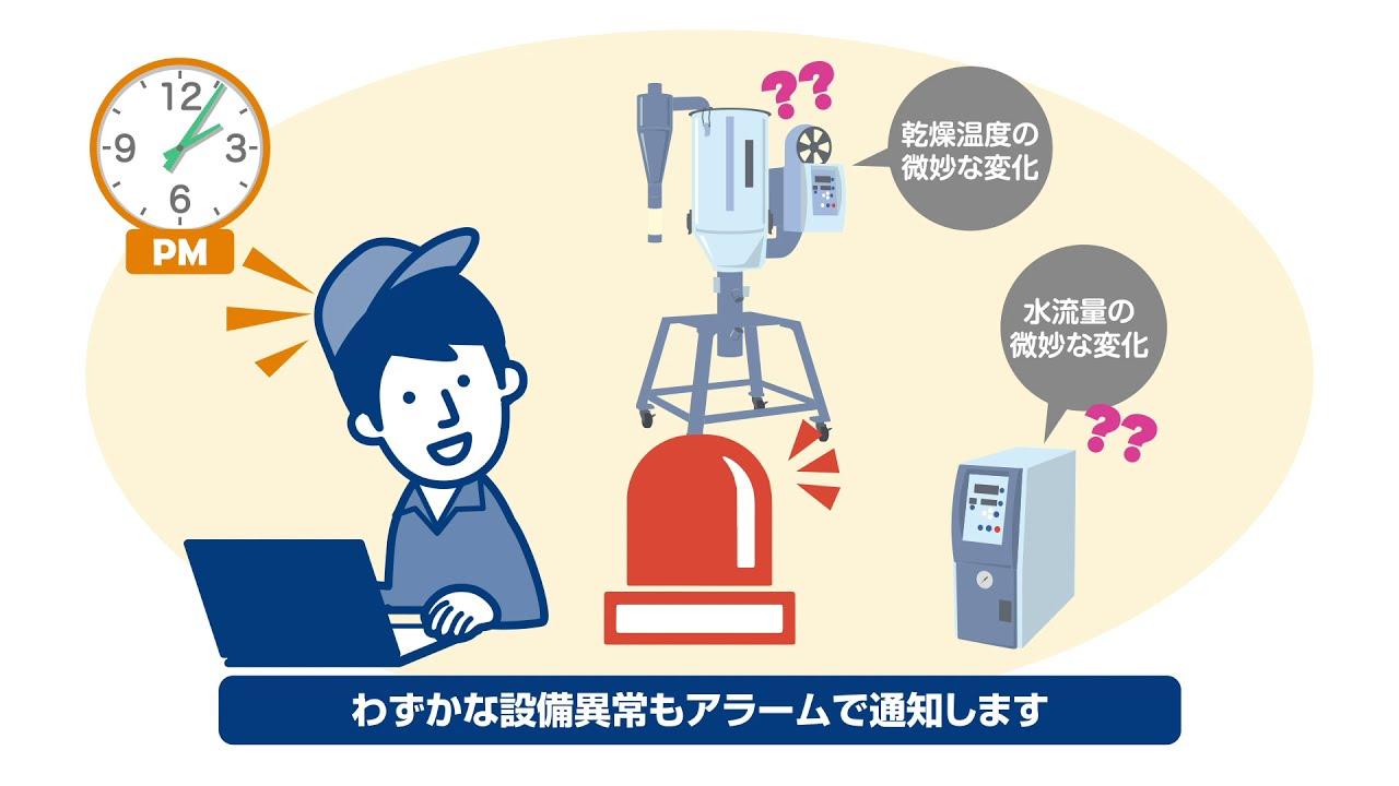 動画で解説05|ロボットが周辺機器の変化をモニタリング|不良・要検査を自動振分け