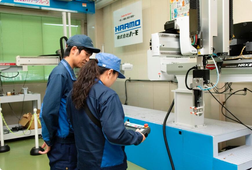 産業用ロボット特別教育の実技講習を実施