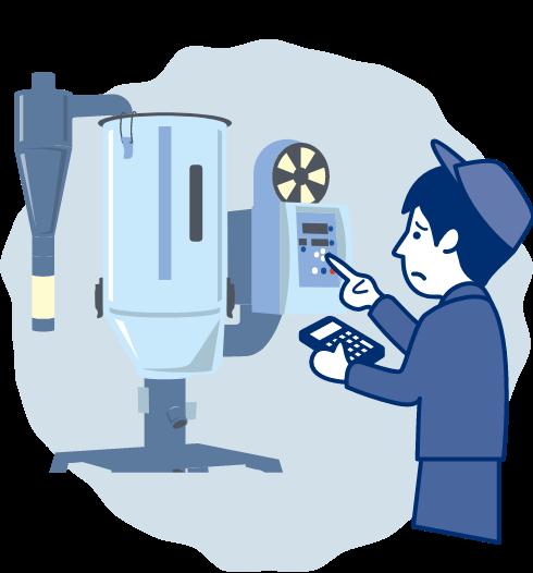 一括設定で射出成形周辺機器の段取り時間を短縮